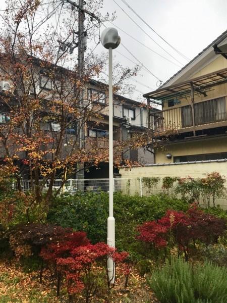 京都大学宿舎外灯 完成