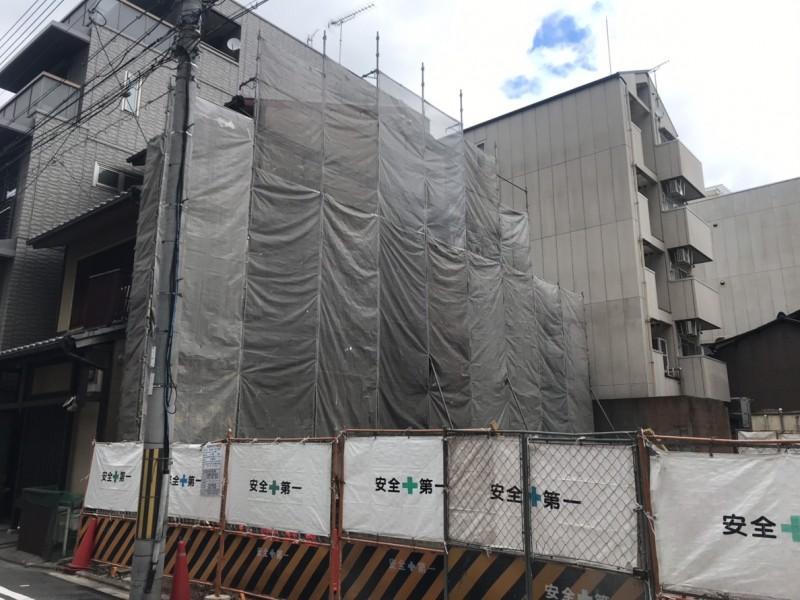 中京区隣接改修塗装工事
